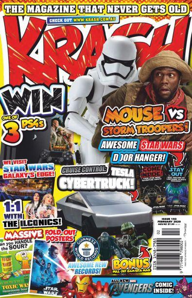 KRASH magazine cover