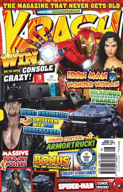 KRASH magazine cover