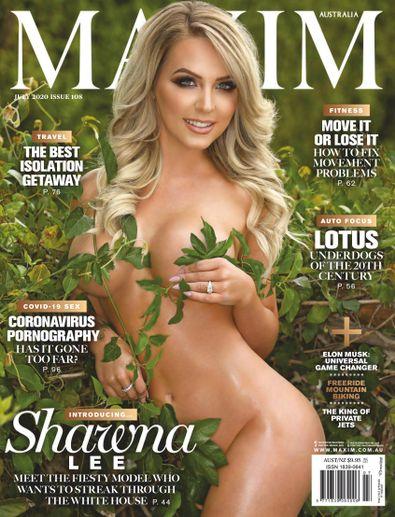 MAXIM Australia magazine cover