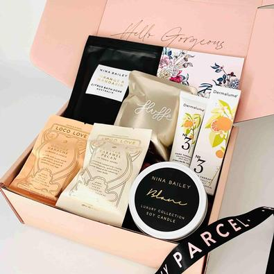 Peony Parcel Bright Days Uplifting Pamper Gift Box cover