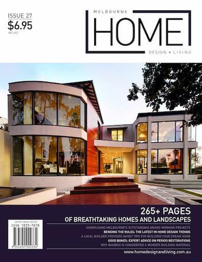 Melbourne Home Design + Living #27 cover