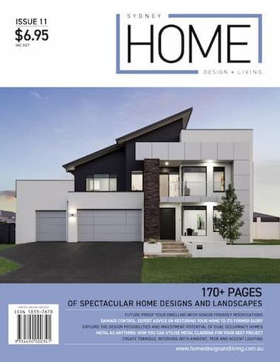Sydney Home Design + Living #11 cover