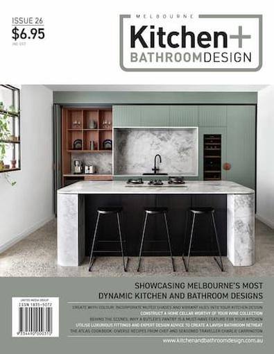 Melbourne Kitchen + Bathroom Design #26 cover