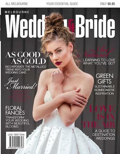 Melbourne Wedding & Bride #30 cover