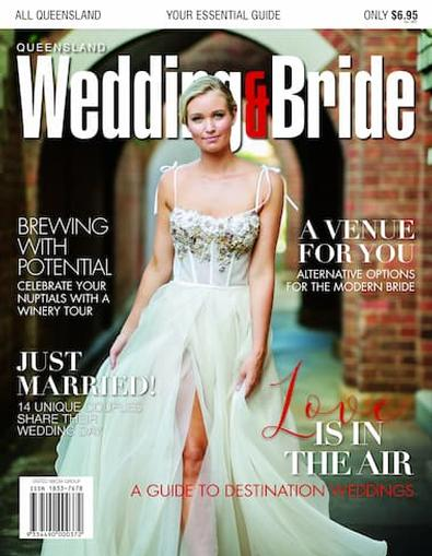 Queensland Wedding & Bride #20 cover