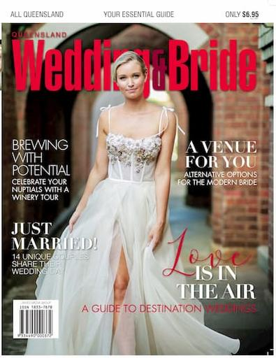 Queensland Wedding & Bride #20 cover