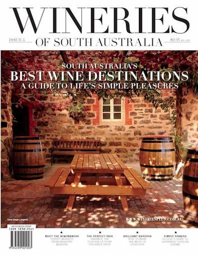 Wineries of South Australia #4 cover