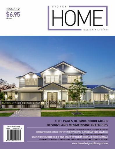 Sydney Home Design + Living # 12 cover