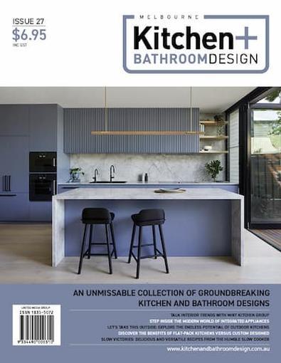 Melbourne Kitchen + Bathroom Design #27 cover