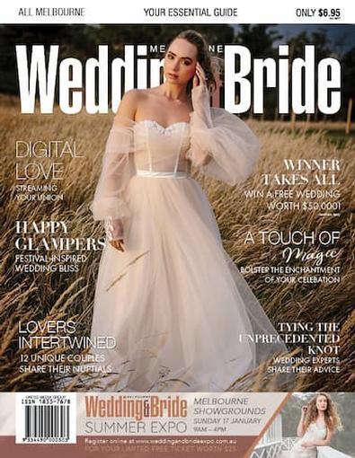 Melbourne Wedding & Bride #31 cover