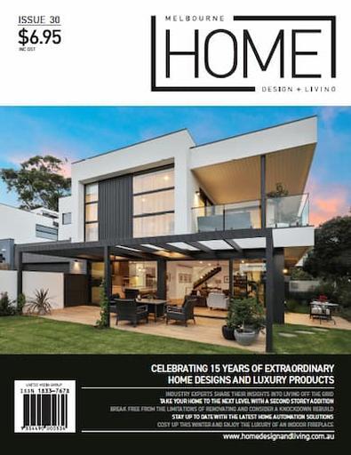 Melbourne Home Design + Living # 30 cover