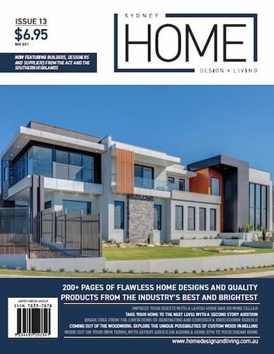 Sydney Home Design & Living #13 cover