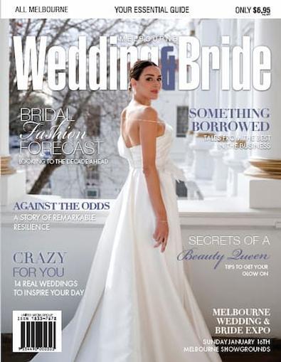 Melbourne Wedding + Bride Magazine #32 cover