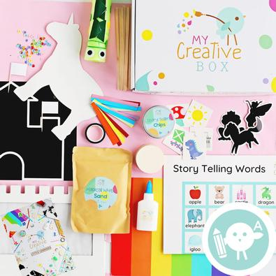 My Creative Box - Little Learners Storytellers cover