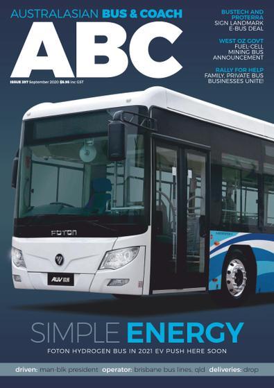 Australiasian Bus & Coach magazine cover