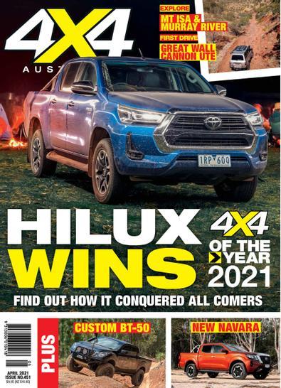 4x4 Australia magazine cover