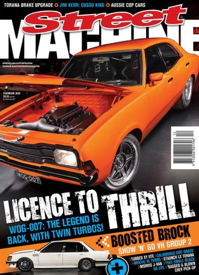 Street Machine magazine cover
