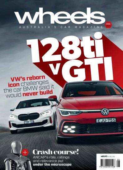 Wheels magazine cover
