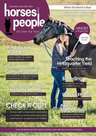 Horses and People magazine cover