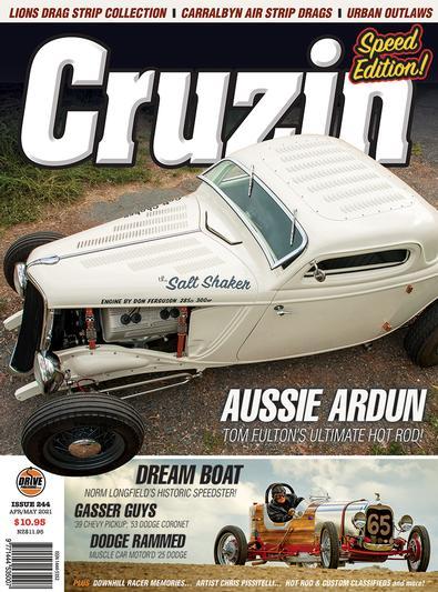 Cruzin magazine cover