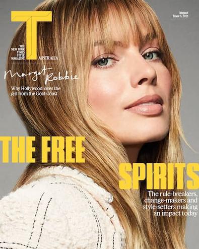 T Australia magazine cover