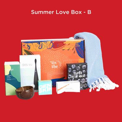'tis the Summer Love Box cover