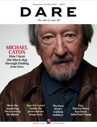 DARE magazine cover