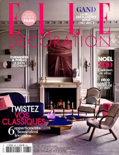 Elle Decoration (FRA) magazine cover