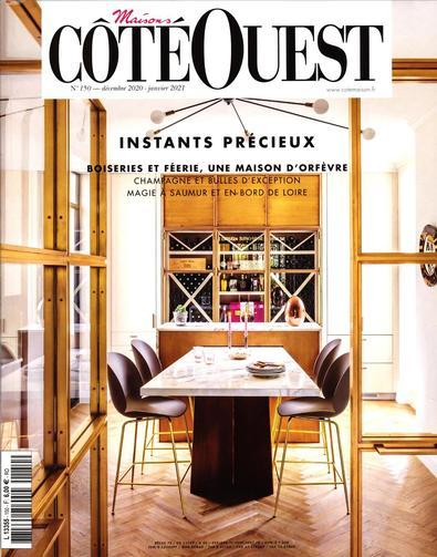 Maisons Cote Ouest magazine cover