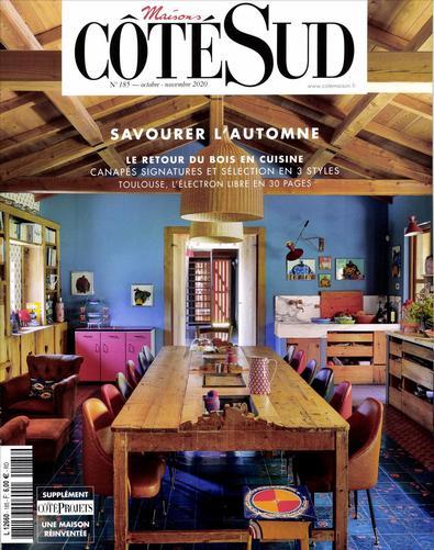 Maisons Cote Sud magazine cover