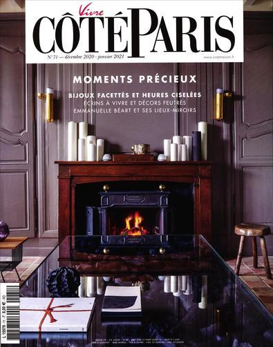 Vivre Cote Paris magazine cover