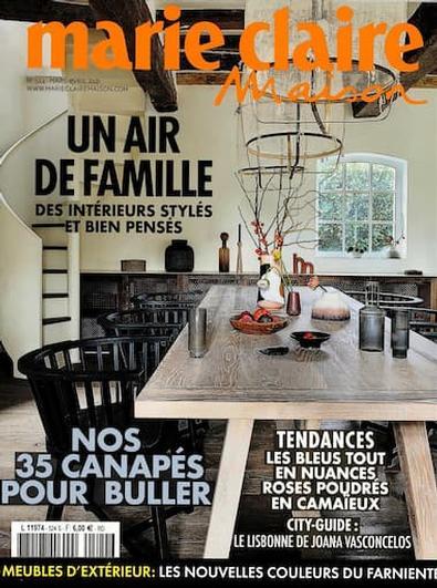 Marie Claire Maison magazine cover