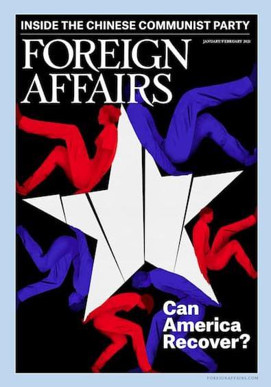 Foreign Affairs - USA magazine cover