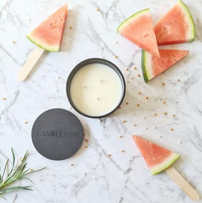Watermelon Deluxe Soy Wax XL Candle cover