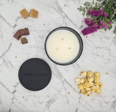 Caramel Delight Premium Soy Wax XL Candle cover