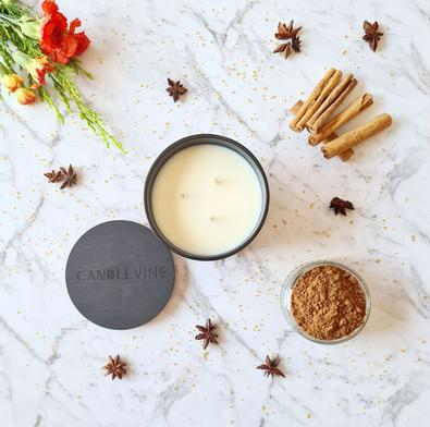 Cinny 'n' Spice Premium Soy Wax XL Candle cover