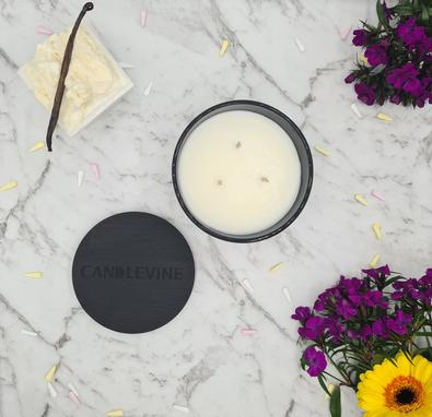 Vanille Premium Soy Wax XL Candle cover