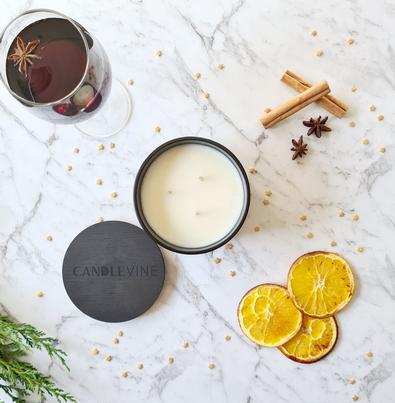 Winter Red Premium Soy Wax XL Candle cover