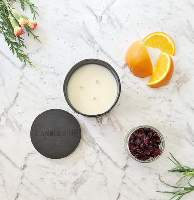 Zest & Cranberry Punch Premium Soy Wax XL Candle cover