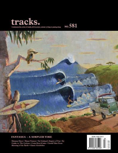 Tracks magazine cover