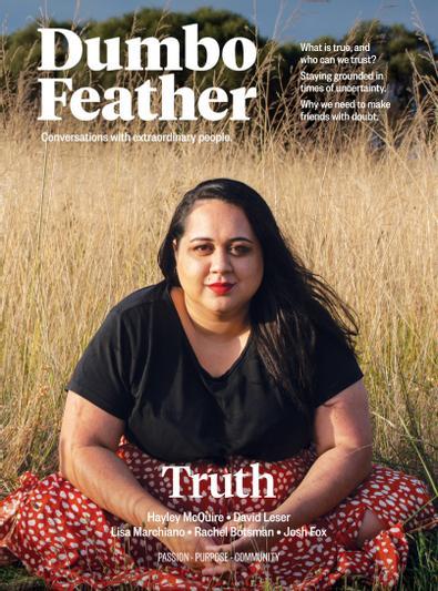 Dumbo Feather magazine cover