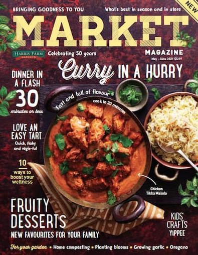 Market magazine cover