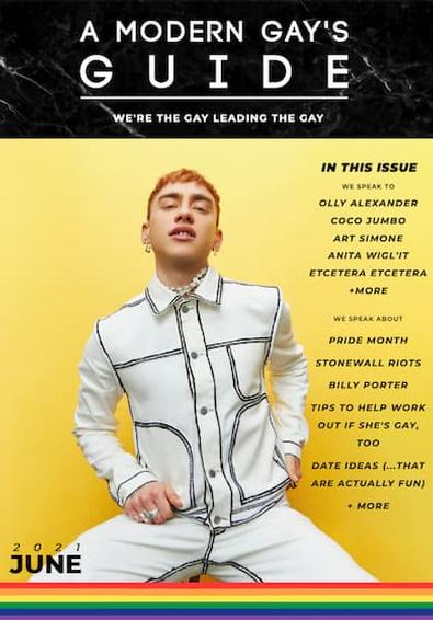 A Modern Gay's Guide magazine cover
