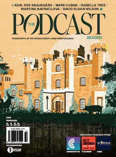 The Podcast Reader magazine cover