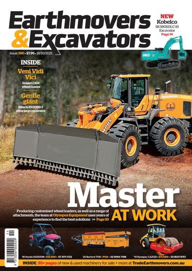 Earthmovers & Excavators magazine cover