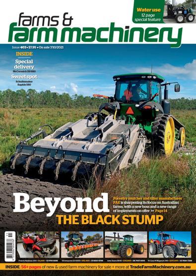 Farms & Farm Machinery magazine cover