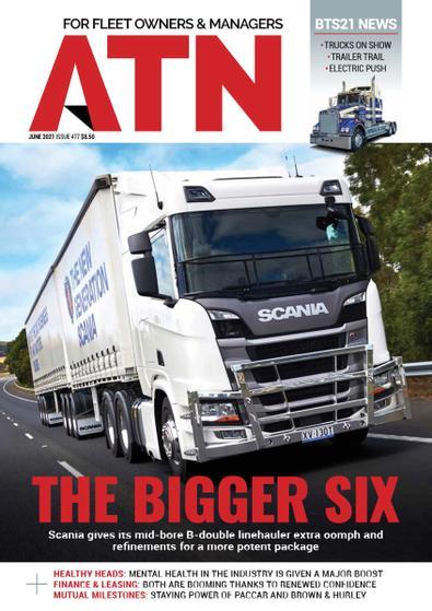 Australasian Transport News magazine cover