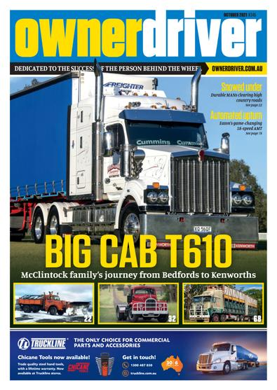 Owner Driver magazine cover