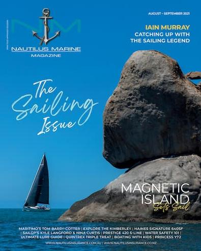 Nautilus Marine Magazine cover