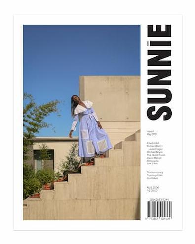 SUNNIE magazine cover